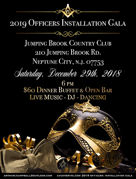 17th District 2019 Officer's Installation Gala