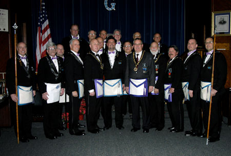 Durand Lodge Officers for 2017