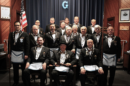Durand Lodge Officers for 2018