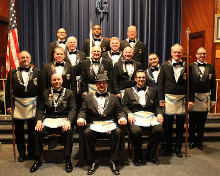 Durand Lodge Officers for 2019